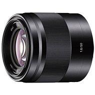 Sony 50mm f/1.8 černý - Objektiv