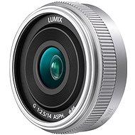 Panasonic Lumix G 14mm f/2.5 stříbrný - Objektiv