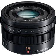 Panasonic Leica DG Summilux 15mm f/1.7 ASPH černý - Objektiv
