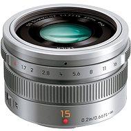 Panasonic Leica DG Summilux 15mm f/1.7 ASPH stříbrný - Objektiv