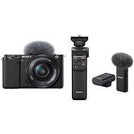 Sony Alpha ZV-E10 + 16-50mm f/3.5-5.6 + Grip GP-VPT2BT + Mikrofon ECM-W2BT - Digitální fotoaparát