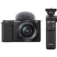 Sony Alpha ZV-E10 + 16-50mm f/3.5-5.6 + Grip GP-VPT2BT - Digitální fotoaparát