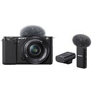 Sony Alpha ZV-E10 + 16-50mm f/3.5-5.6 + Mikrofon ECM-W2BT - Digitální fotoaparát