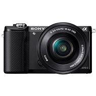 Sony Alpha A5000 černý + objektiv 16-50mm - Digitální fotoaparát