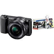 Sony Alpha A5100 černý + objektiv 16-50mm + Alza Foto Starter Kit - Digitální fotoaparát