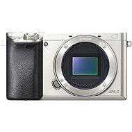 Sony Alpha A6000 stříbrný, tělo - Digitální fotoaparát