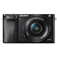 Sony Alpha A6000 černý + objektiv 16-50mm - Digitální fotoaparát