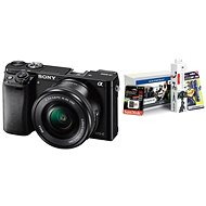 Sony Alpha A6000 černý + objektiv 16-50mm + Alza Foto Starter Kit - Digitální fotoaparát