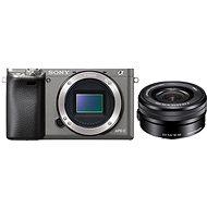 Sony Alpha A6000 grafitový + objektiv 16-50mm - Digitální fotoaparát