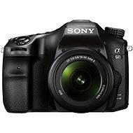 Sony Alpha A68 + objektiv 18-55mm II - Digitální fotoaparát