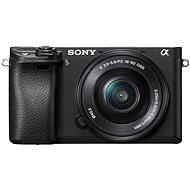 Sony Alpha A6300 + objektiv 16-50mm - Digitální fotoaparát
