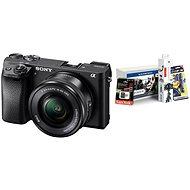 Sony Alpha A6300 + objektiv 16-50mm + Alza Foto Starter Kit 32GB - Digitální fotoaparát