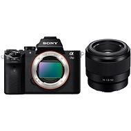 Sony Alpha A7 II + objektiv FE 50mm f/1.8 - Digitální fotoaparát