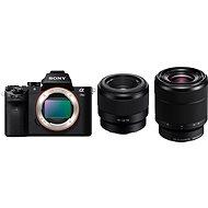 Sony Alpha A7 II + objektiv 28–70mm + FE 50mm f/1.8 - Digitální fotoaparát