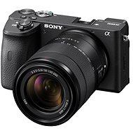 Sony Alpha A6600 černý + 18-135mm OSS SEL - Digitální fotoaparát