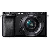 Sony Alpha A6100 černý + 16-50mm f/3.5-5.6 OSS SEL - Digitální fotoaparát