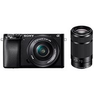 Sony Alpha A6100 černý + 16-50mm f/3.5-5.6 OSS SEL + 55-210mm f/4.5-6.3 SEL - Digitální fotoaparát