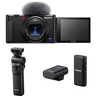 Sony ZV-1 + Grip GP-VPT2BT + Mikrofon ECM-W2BT
