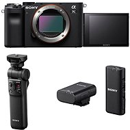 Sony Alpha A7C černý + Grip GP-VPT2BT + Mikrofon ECM-W2BT