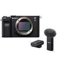 Sony Alpha A7C černý + Mikrofon ECM-W2BT