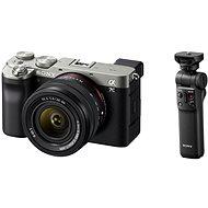 Sony Alpha A7C + FE 28-60mm stříbrný + Grip GP-VPT2BT - Digitální fotoaparát