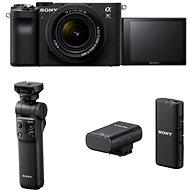 Sony Alpha A7C + FE 28-60mm + Grip GP-VPT2BT + Mikrofon ECM-W2BT