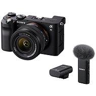 Sony Alpha A7C+ FE 28-60mm černý + Mikrofon ECM-W2BT