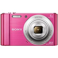 Sony CyberShot DSC-W810 růžový - Digitální fotoaparát