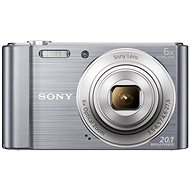 Sony CyberShot DSC-W810 stříbrný - Digitální fotoaparát