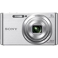 Sony CyberShot DSC-W830 stříbrný - Digitální fotoaparát