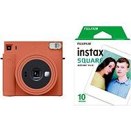 Fujifilm Instax Square SQ1 oranžový + 10x fotopapír