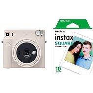 Fujifilm Instax Square SQ1 bílý + 10x fotopapír - Instantní fotoaparát