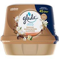 GLADE vonný gel do koupelny - Sensual Sandalwood & Jasmine 180g - Osvěžovač vzduchu