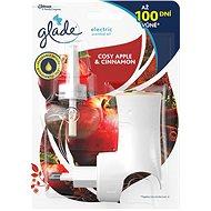 Glade Electric Cosy Apple & Cinnamon + náplň 20 ml - Osvěžovač vzduchu
