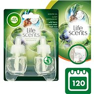 AIR WICK Electric Refill DUO Life Scents Fresh Island 2× 19ml - Air Freshener