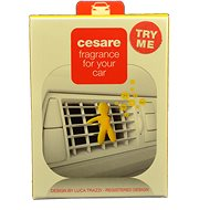 Mr&Mrs FRAGRANCE Cesare Vanilla Box (Yellow) - Vůně do auta