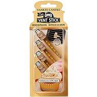 YANKEE CANDLE Vanilla Cupcake Vent Stick 4 ks - Vůně do auta