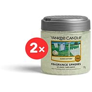 YANKEE CANDLE Clean Cotton 2× 170 g - Vonné perly