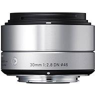 SIGMA 30mm f/2.8 DN ART stříbrný OLYMPUS - Objektiv