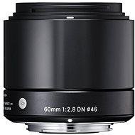 SIGMA 60mm f/2.8 DN ART černý Sony E - Objektiv