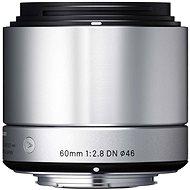 SIGMA 60mm f/2.8 DN ART stříbrný Sony E