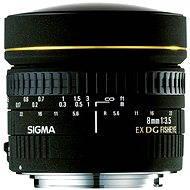 SIGMA 8mm f/3.5 EX DG rybí oko CIRCULAR pro Canon - Objektiv