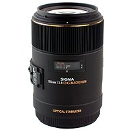 SIGMA 105mm f/2.8 MAKRO EX DG OS HSM pro Canon - Objektiv