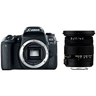 Canon EOS 77D + Sigma 17-50mm - Digitální fotoaparát