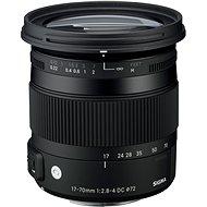 SIGMA 17-70mm f/2.8-4 DC MACRO HSM pro Sony Contemporary - Objektiv