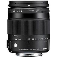 SIGMA 18-200mm f/3.5-6.3 DC MACRO OS HSM pro Canon (řada Contemporary) - Objektiv