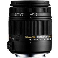 SIGMA 18-250mm f/3.5-6.3 DC Macro OS HSM pro Sony A - Objektiv