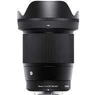 Sigma 16mm f/1,4 DC DN pro Sony E (řada Contemporary) - Objektiv