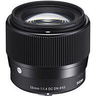 SIGMA 56mm f/1.4 DC DN Sony E (řada Contmporary) - Objektiv