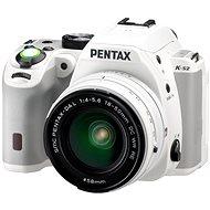 PENTAX K-S2 bílý + 18-50mm WR - Digitální zrcadlovka